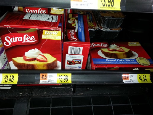 Sara Lee frozen snacks
