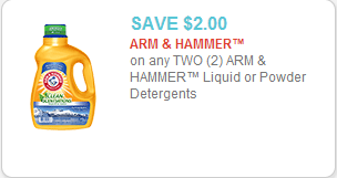 Arm & Hammer Detergent Coupon