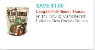 Campbells Sauce Coupon