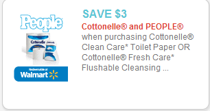 Cottonelle and People Magazine coupon