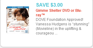 Gimme Shelter Coupon