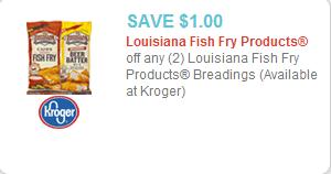 Louisiana Fish Fry Coupon