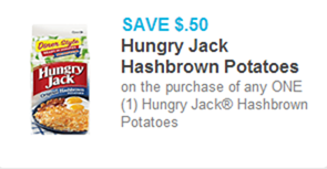 Hungry Jack Hashbrowns coupon