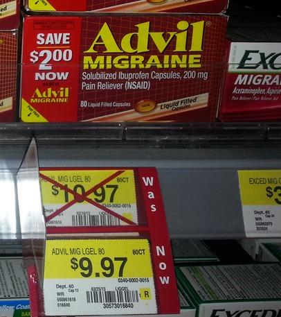 Advil Migrane