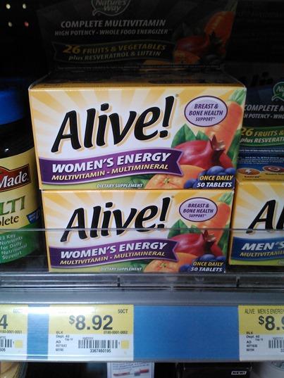 Alive Vitamin