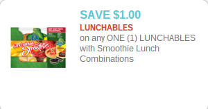 Lunchables with Smoothies Coupon
