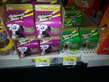 Hollywood Stars Dog Treats Coupon