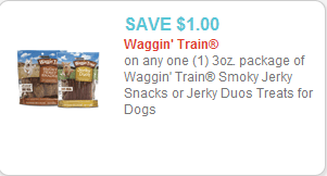 Waggin Train coupon