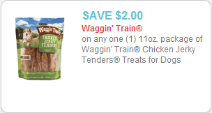 Waggin Train Dog Snacks coupon