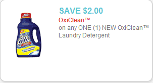 Oxi-Clean Detergent Coupon