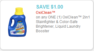 Oxi-Clean Stain Fighter Coupon
