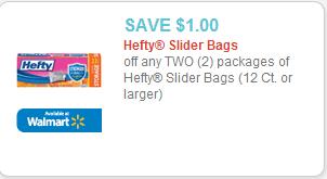 Hefty Slider Bags Coupon