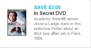 In Secret Coupon