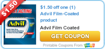 Advil Film-Coated Coupon
