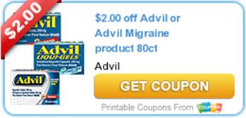 Advil Migrane COupon