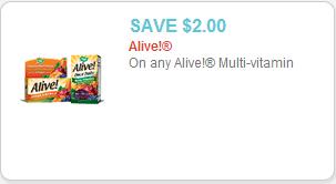 Alive Multivitamin Coupon