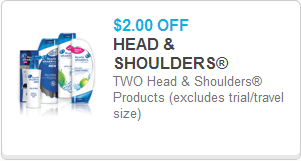 graphic about Printable Head and Shoulders Coupon titled Mind Shoulders Shampoo Simply $1.67 at Walmart!