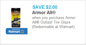 Armor All Coupon