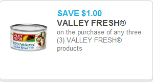Valley Fresh Coupon