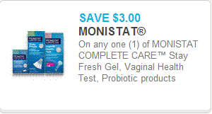 Monistat coupon
