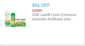 Gain Fabric Enhancers Coupon