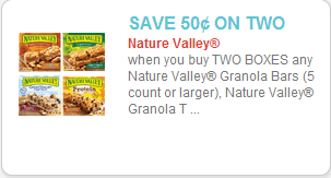 Nature Valley Coupon