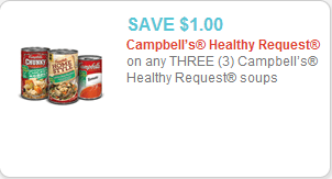 Campbell's Healthy Request Coupon