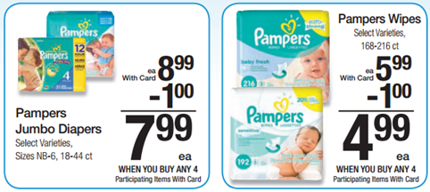Pampers at Kroger