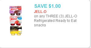 Jell-O 4Pks COupon