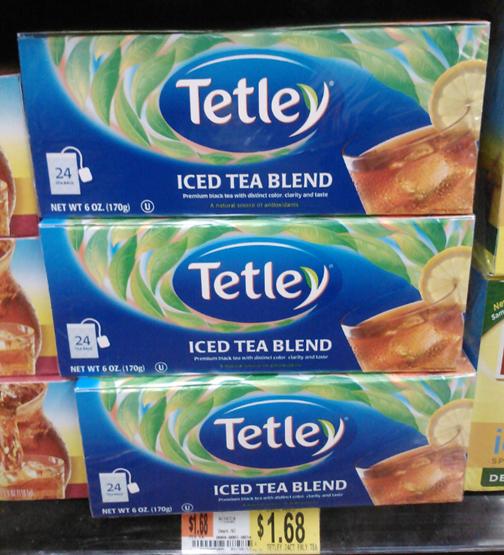 FREE Tetley Tea PLUS Overage