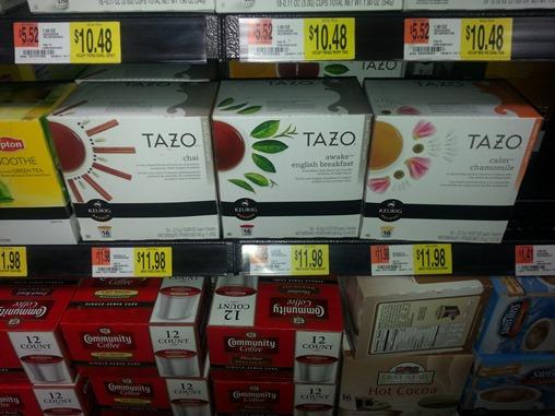 Tazo K-Cups