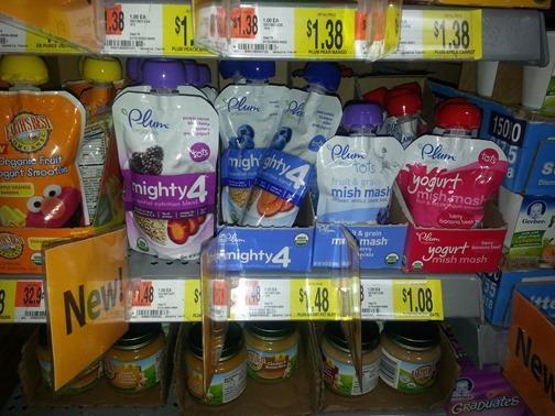 Plum Organic baby Food