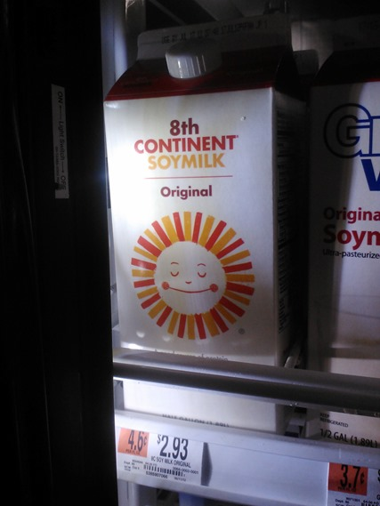 8th continent soymilk