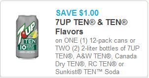 7 UP Ten Coupon