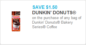 Dunkin Donuts Coffee Coupon