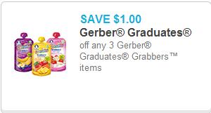 Gerber Graduates Grabbers Coupon