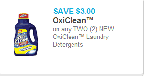 Oxi-Clean Laundry Detergent Coupon