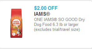 Iams So Good Coupons