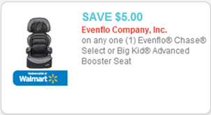 Evenflo Carseat coupon