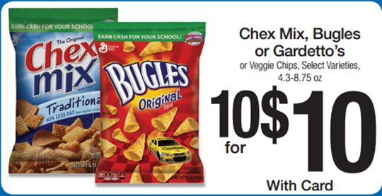 Chex Mix Deal