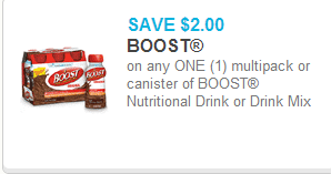 Boost Drink Mix Coupon