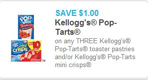 Kellogg's Pop Tarts Coupon