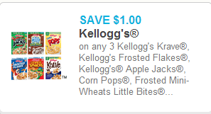 Kellogg's Cereal Coupon