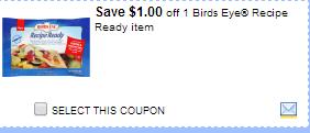 Bird's Eye Recipe Ready Coupon