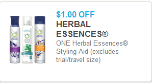 Herbal Essences Styler Coupon