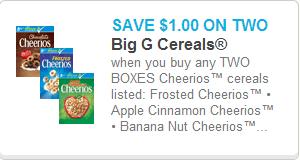 Cheerios Coupon