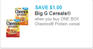 Cheerios Protein Coupon