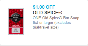 Old Spice Soap Coupon