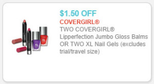 cover girl nail gels coupon