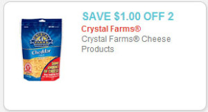 crystal farms cheese coupon